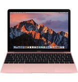 Apple Apple 12-inch Macbook: 1.2GHz dual-core Intel Core m3, 8GB, 256GB, Intel HD Graphics 615 - Rose Gold