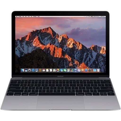 Apple 12-inch MacBook: 1.2GHz dual-core Intel Core m3, 256GB - Space Gray (Open Box)