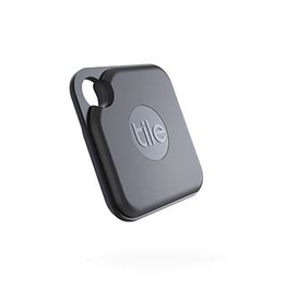 Tile Tile Pro Bluetooth Tracker with Replaceable Battery - Black
