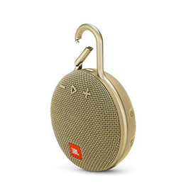 JBL JBL Clip3 Bluetooth Speaker - Sand (Gold)