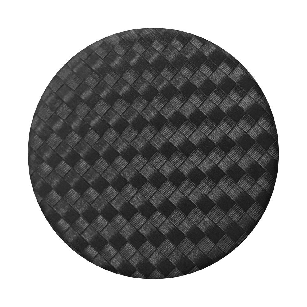 PopSockets PopSockets PopGrip - Carbonite Weave Black