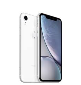 Apple iPhone XR 64GB White (Open Box) (includes EarPods and charger)