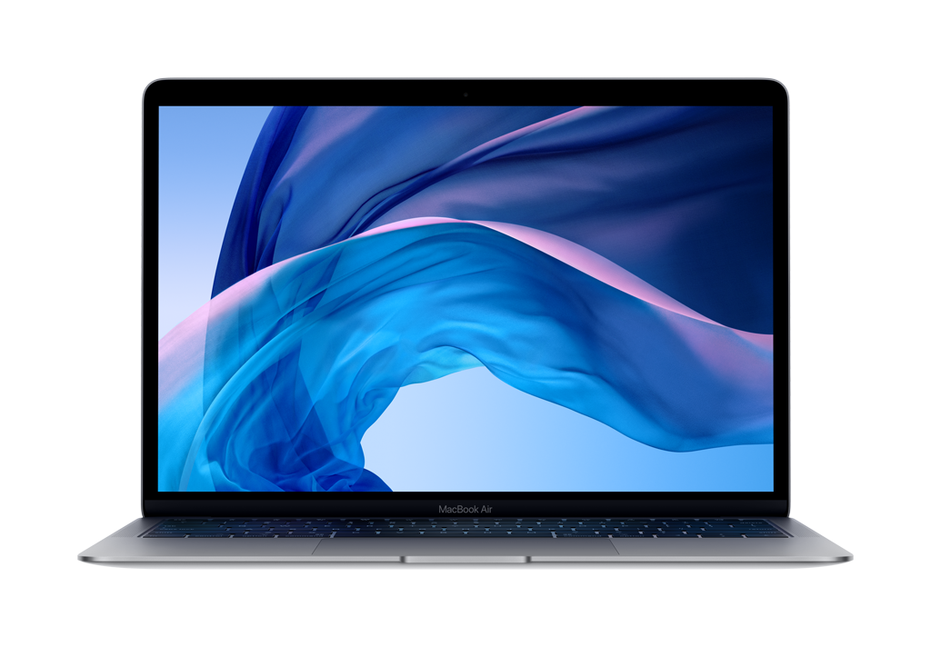 Apple 13-inch MacBook Air with Touch ID: 1.6GHz dual-core 8th-Gen i5, 8GB, 256GB SSD - Space Gray (Open Box)