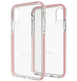Gear4 D30 Piccadilly Case for iPhone XS/X - Clear / Rose Gold