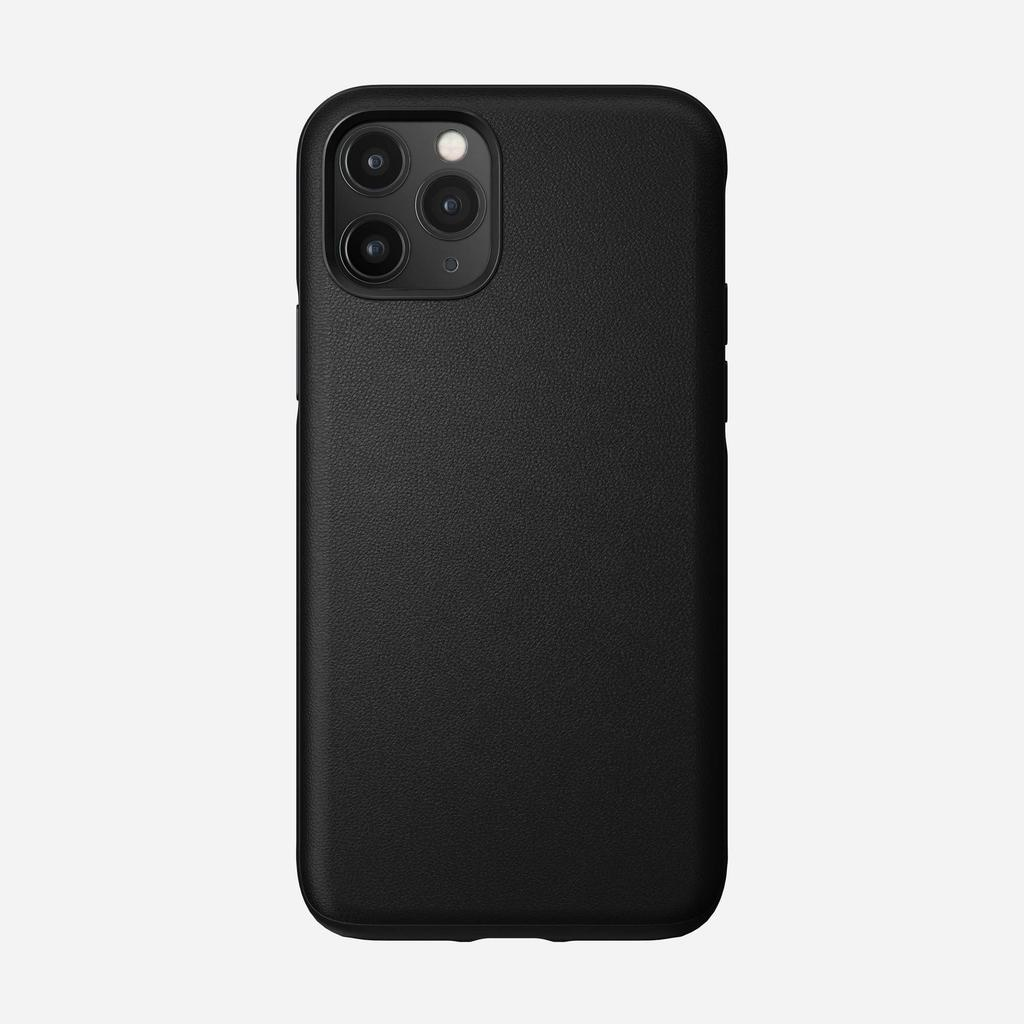 Nomad Nomad Rugged Leather iPhone 11 Pro Case - Black
