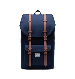 Herschel Supply Herschel Supply Little America BackPack - Peacoat / Saddle Brown