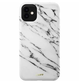 LAUT Huex Elements Case for iPhone 11 - White Marble