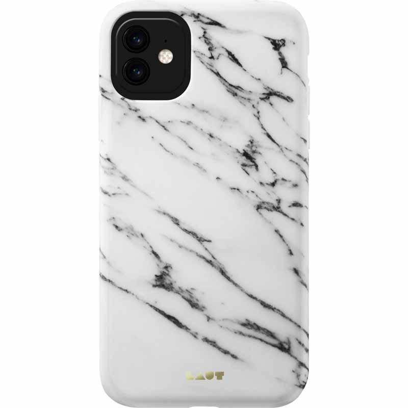 Laut LAUT Huex Elements Case for iPhone 11 - White Marble