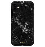 LAUT Huex Elements Case for iPhone 11 - Black Marble