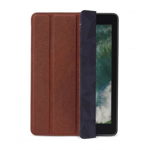 Decoded Decoded Leather Slim Folio for iPad (2017/2018) - Cinnamon Brown (Open Box)