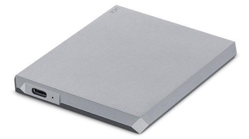 Lacie LaCie 2TB Mobile Drive USB 3.0 & USB-C - Space Grey