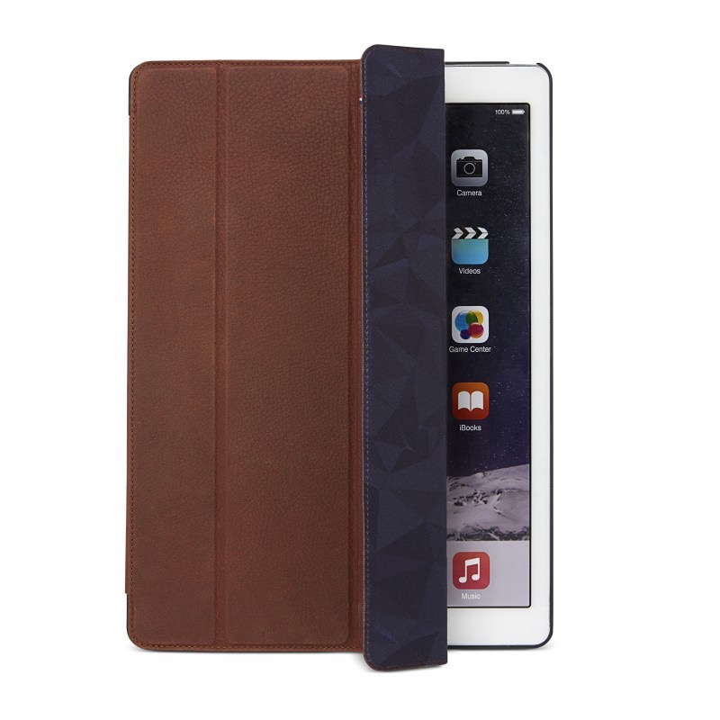 Decoded Leather Slim Folio for 12.9-inch iPad Pro - Cinnamon Brown