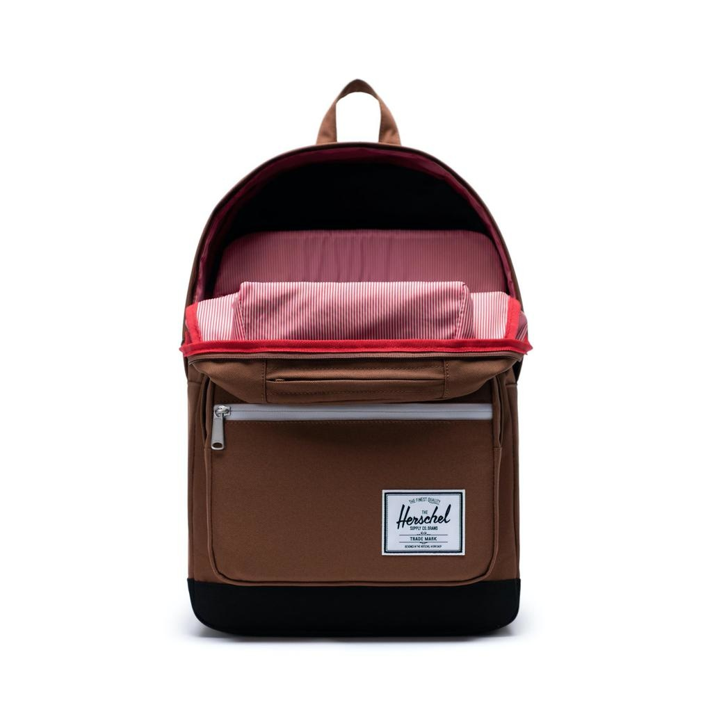 Herschel Supply Herschel Supply Pop Quiz BackPack - Saddle Brown / Black