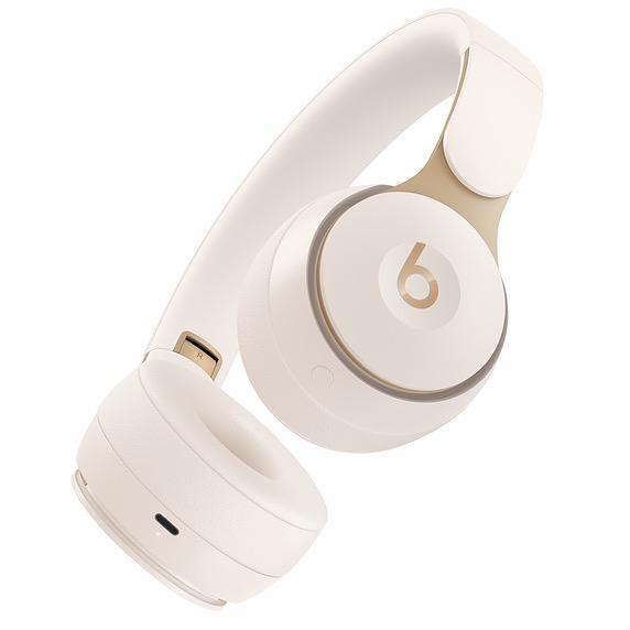 Beats Beats Solo Pro Wireless Noise Cancelling On-Ear Headphones - Ivory