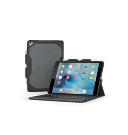 ZAGG Rugged Messenger Keyboard Case for 10.5-inch iPad Air & Pro- Black