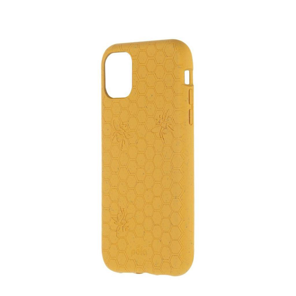 Pela Pela iPhone 11 Compostable Eco-Friendly Protective Case - Honey Bee