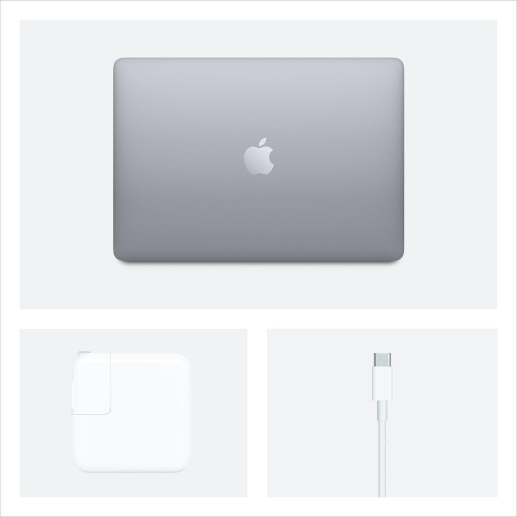 Apple 13-inch MacBook Air: 1.1GHz dual-core 10th-gen i3 , 8GB, 256GB - Space Grey