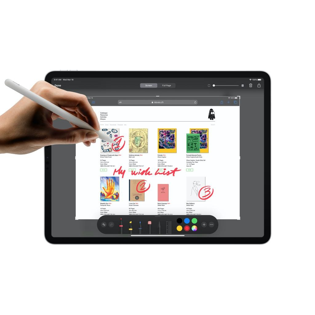 Apple NEW 11-inch iPadPro Wi-Fi 512GB (2nd Generation) - Silver