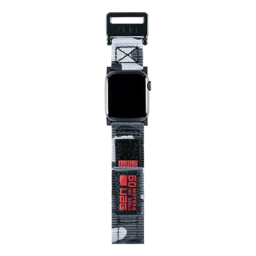 UAG UAG 44mm/42mm Active Strap for Apple Watch - Midnight Camo
