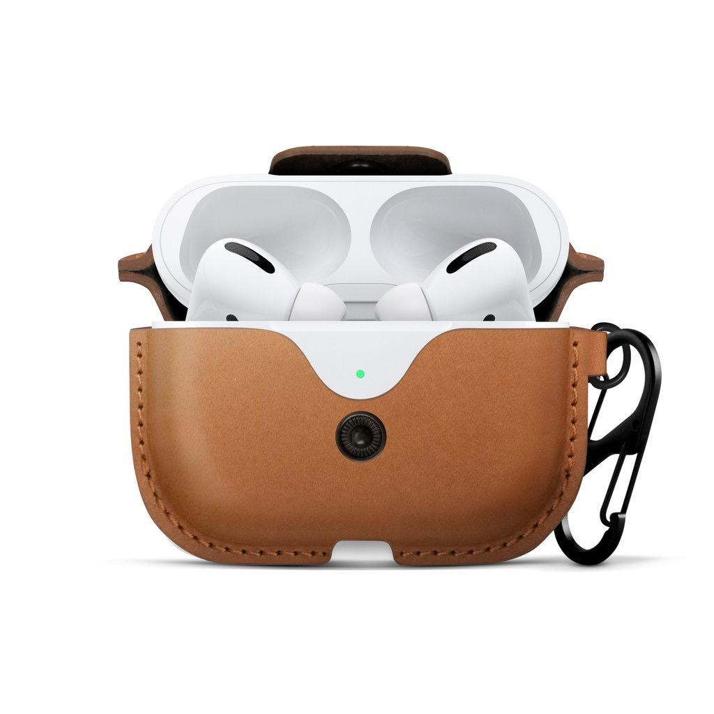 Twelve South Twelve South AirSnap for AirPods Pro - Cognac
