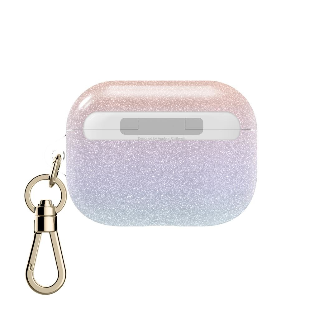 kate spade new york kate spade Flexible Case for Airpod Pros - White Iridescent Glitter