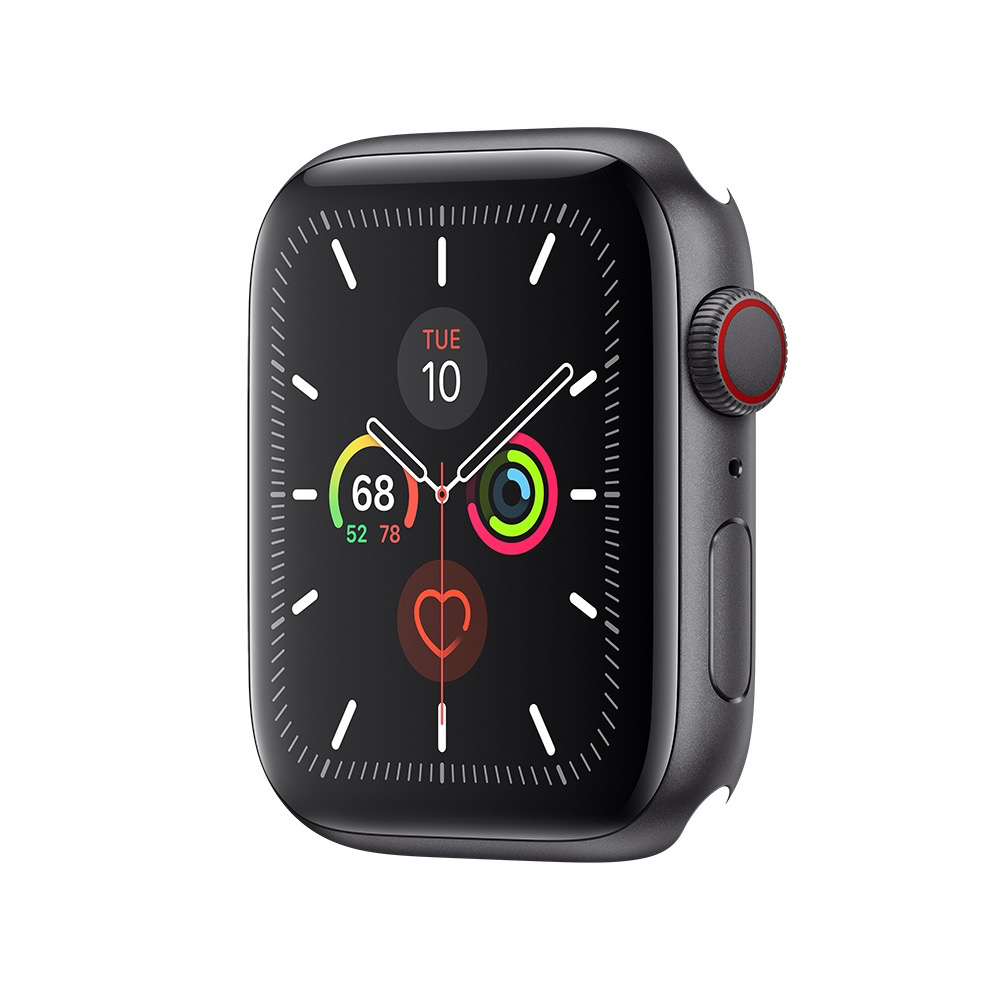 Apple AppleWatch Series 5 GPS + Cel, 44mm Space Grey Aluminum Case Only (Demo)