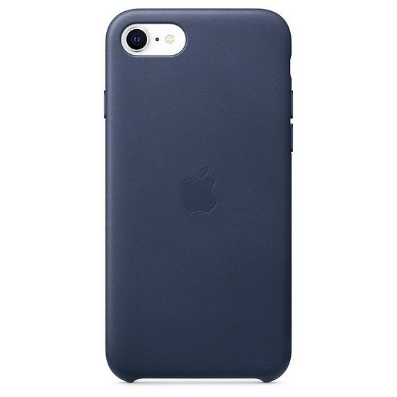 Apple Apple iPhoneSE Leather Case - Midnight Blue
