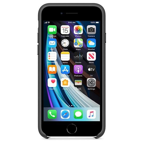 Apple Apple iPhoneSE Leather Case - Black