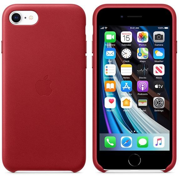 Apple Apple iPhoneSE Leather Case - (PRODUCT)RED