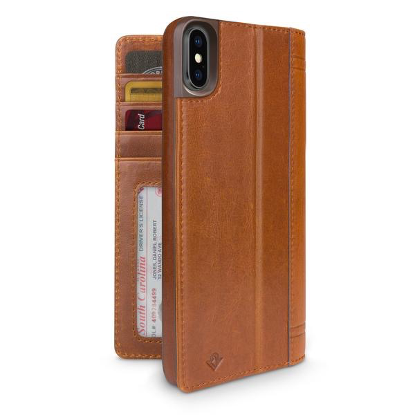 Twelve South Twelve South Journal for iPhone X  - Cognac