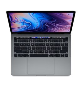 Apple Apple 13-inch MacBook Pro with Touch Bar: 2.4GHz quad-core 8th‑generation Intel Core i5, 16GB, 256GB SSD - Space Grey