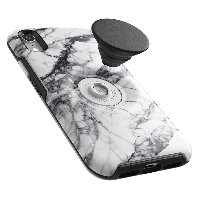 Otterbox Otterbox + Pop Symmetry iPhone XR - White Marble