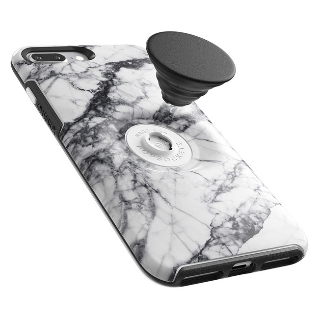 Otterbox Otterbox + Pop Symmetry iPhone 8+/7+ - White Marble