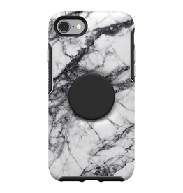 Otterbox Otterbox + Pop Symmetry iPhone SE 2020 8/7 - White Marble