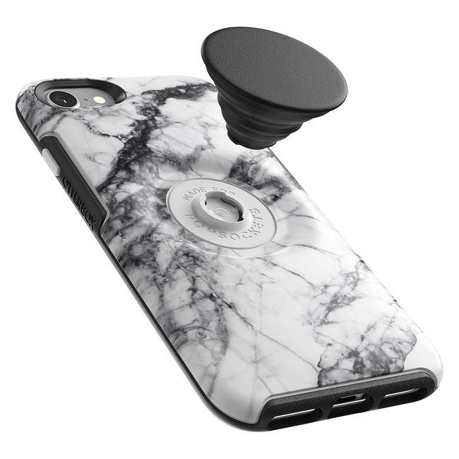 Otterbox Otterbox + Pop Symmetry iPhone SE 2020 8/7 - White Marble