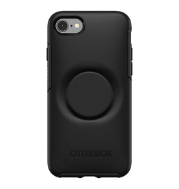Otterbox Otterbox + Pop Symmetry iPhone SE 2020 8/7 - Black