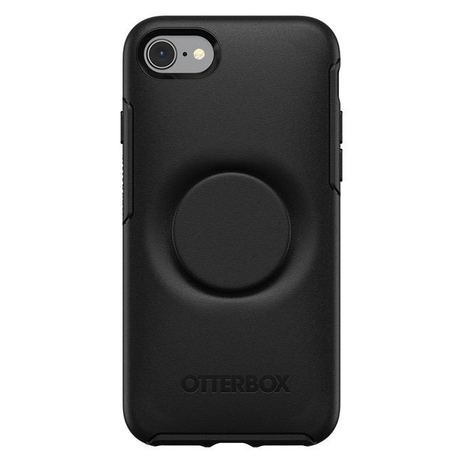 Otterbox Otterbox + Pop Symmetry iPhone SE 2020 8/7 - Black