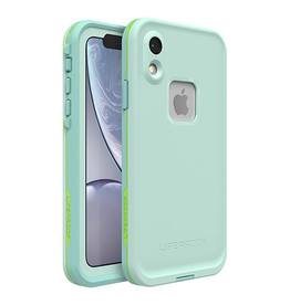 Lifeproof Fre Case for iPhone XR - Tiki (Aqua Blue / Lime)