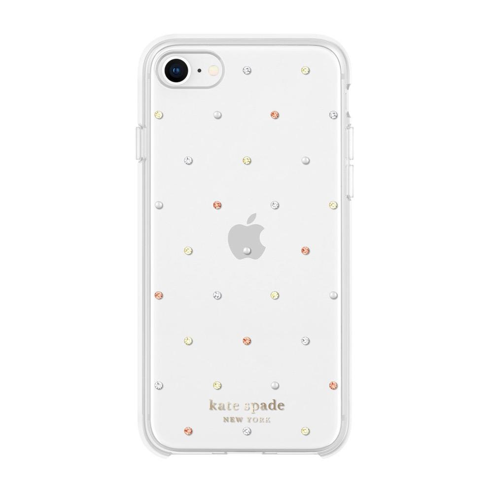kate spade new york kate spade Protective iPhone SE2 2020 - Pin Dot Gems