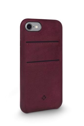 Twelve South Twelve South Relaxed Leather Case with Pockets for iPhone 8/7/6 Plus - Marsala