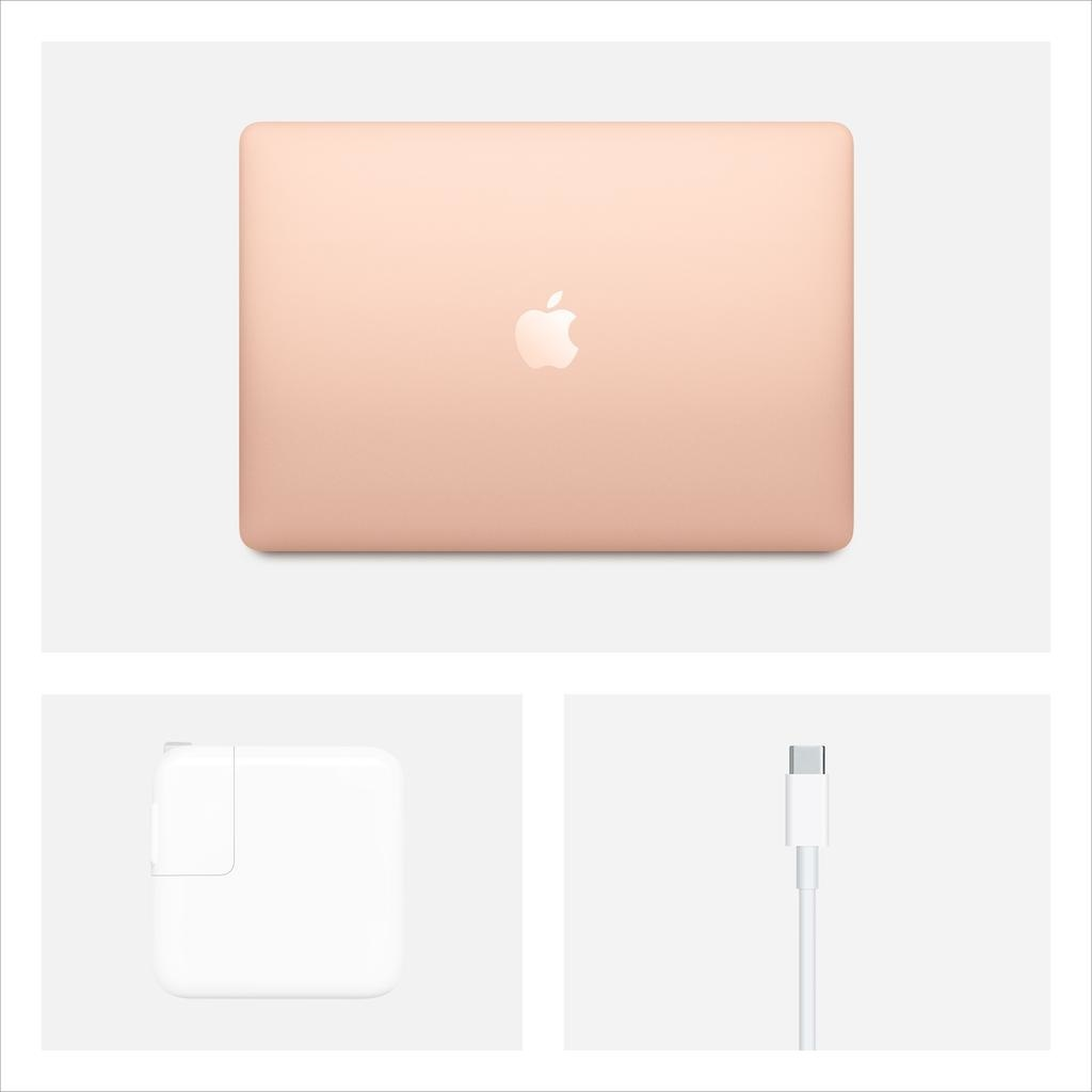 Apple NEW Apple 13-inch MacBook Air: 1.1GHz dual-core 10th-gen i3 , 8GB, 256GB - Gold