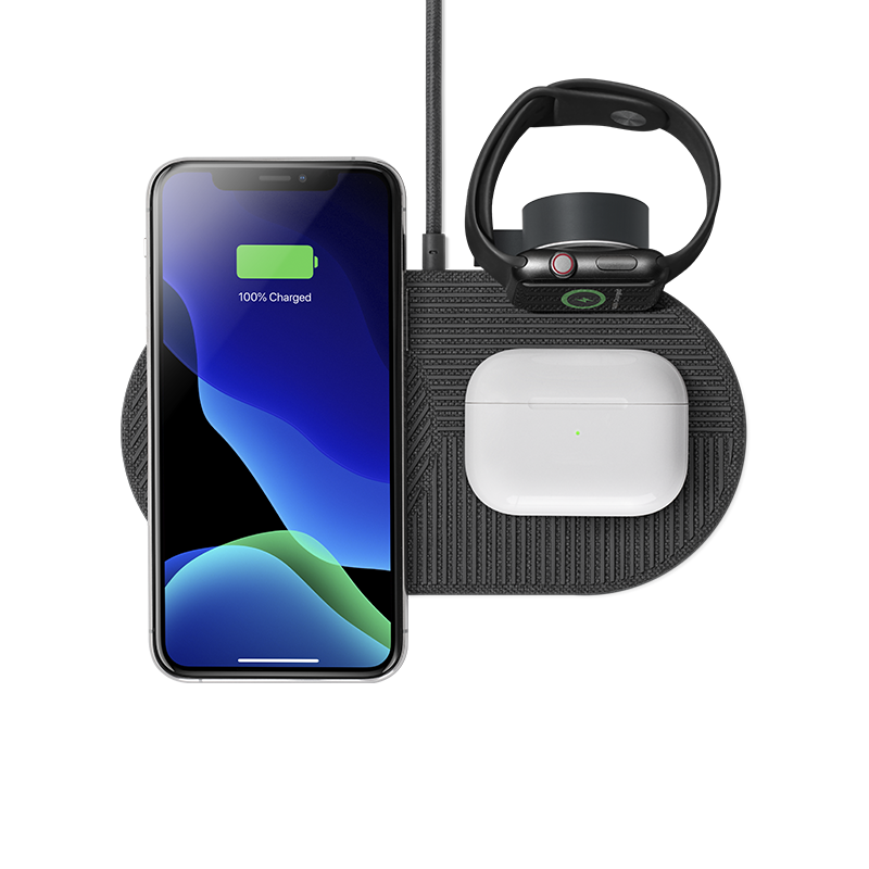 Native Union Native Union Drop XL Wireless Qi Charger with Watch Charging - Slate Grey