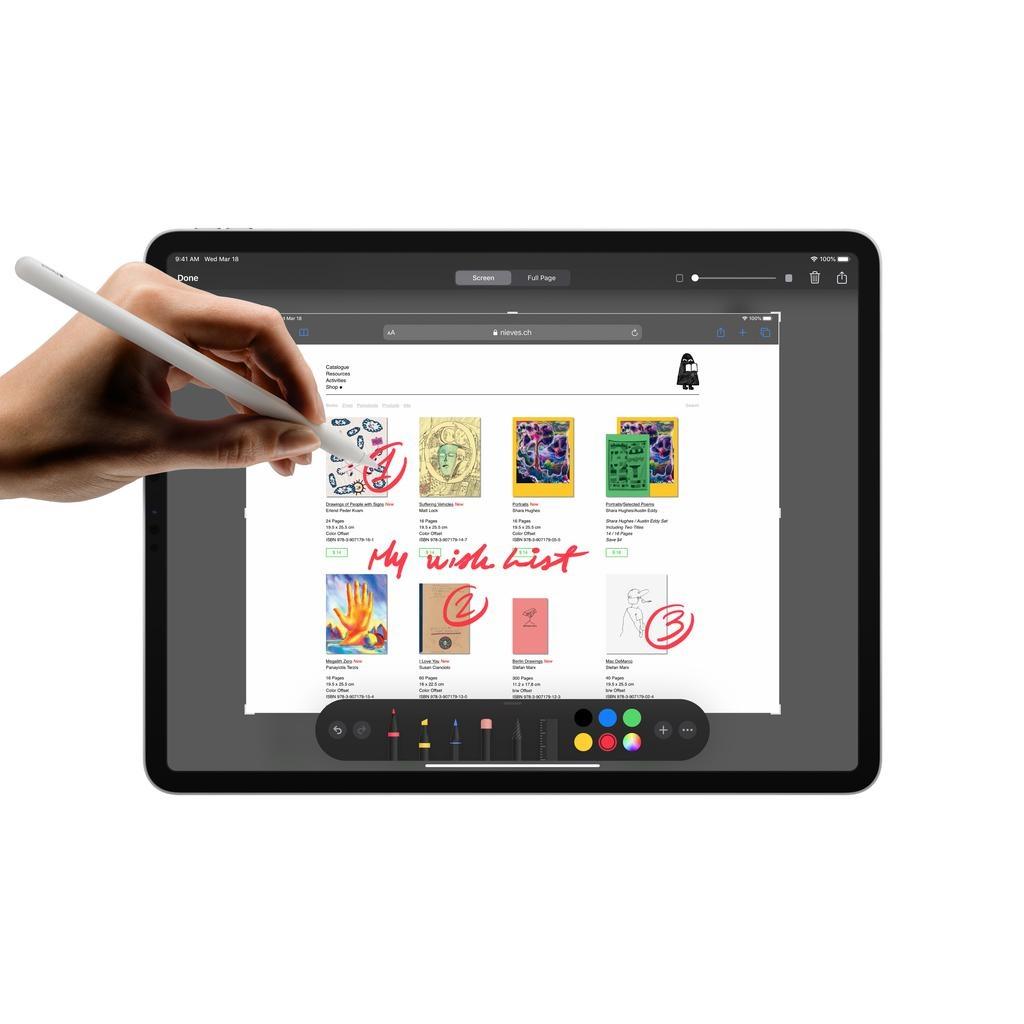 Apple NEW 12.9-inch iPadPro Wi-Fi 128GB (4th Generation) - Space Grey