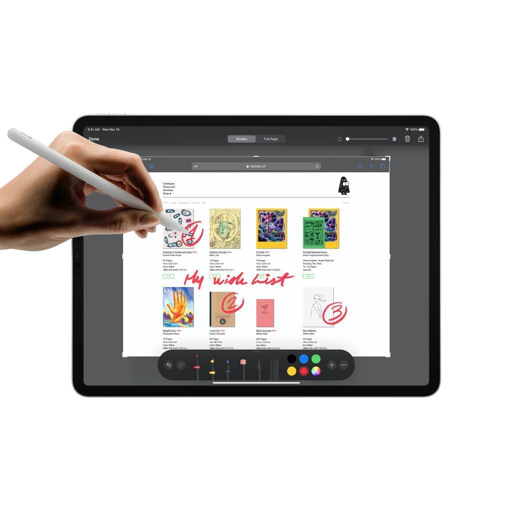 Apple NEW 12.9-inch iPadPro Wi-Fi 256GB (4th Generation) - Silver