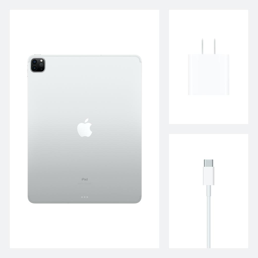 Apple NEW 12.9-inch iPadPro Wi-Fi + Cellular 128GB (4th Generation) - Silver