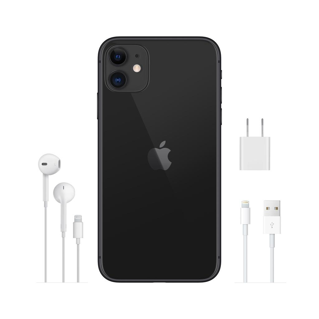Apple iPhone 11 128GB Black (includes EarPods and charger)