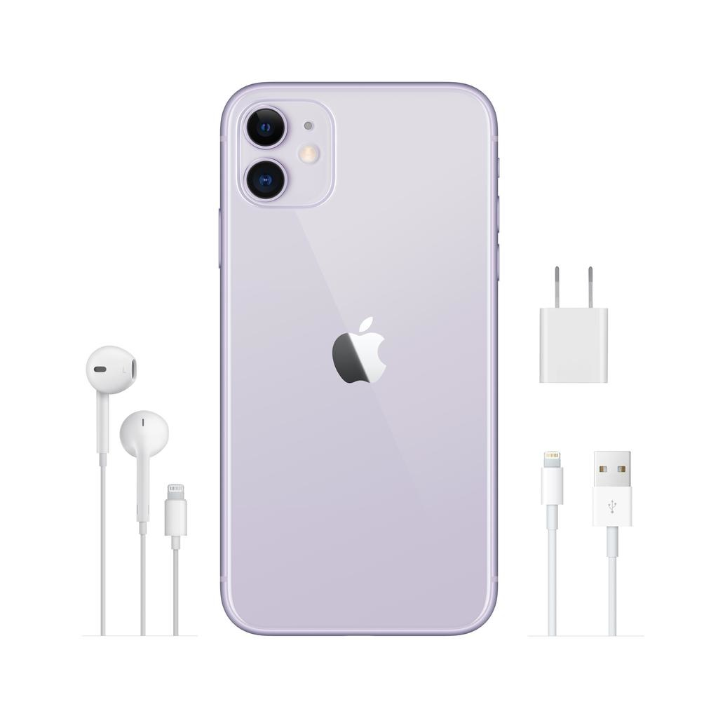 Apple iPhone 11 64GB Purple (includes EarPods and charger)