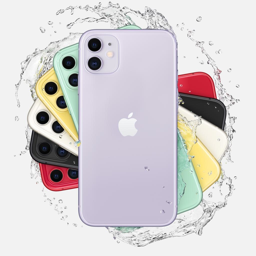 Apple iPhone 11 128GB Purple (includes EarPods and charger)