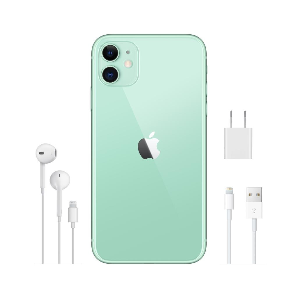 Apple iPhone 11 256GB Green (includes EarPods and charger)