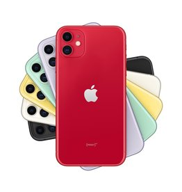 Apple iPhone 11 64GB (PRODUCT)RED (includes EarPods and charger)